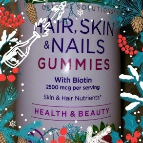 Nature's Bounty Optimal Solutions Hair, Skin and Nails Gummies - 220 Count uploaded by Holly N.