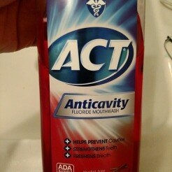 Act Anticavity Fluoride Mouthwash Cinnamon uploaded by Andrea K.