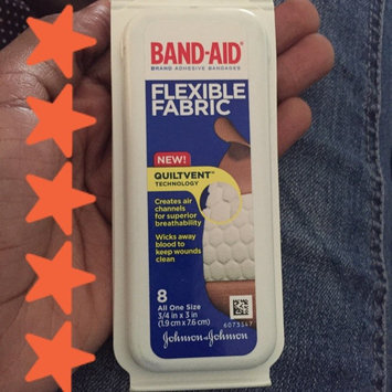 Photo of Band-Aid Adhesive Bandages Sheer Strips Extra Large - 10 CT uploaded by Dayana J.