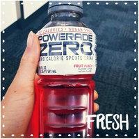 Powerade Zero Fruit Punch Zero Calorie Sports Drink - 8 PK uploaded by AJ J.