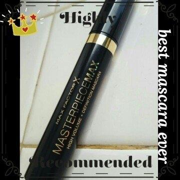 MaxFactor Masterpiece Max Regular Mascara Velvet Black uploaded by Flor H.