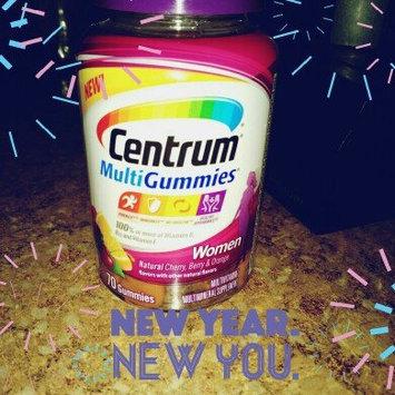 Centrum MultiGummies Women, Cherry, Berry, Orange uploaded by Alesha G.