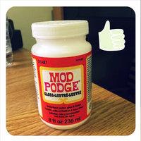 Plaid CS11201 Mod Podge All-in-1 Glue Set, 8-Ounce, Gloss uploaded by Kayla M.