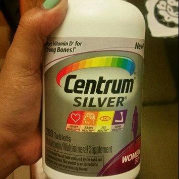 Centrum Silver Women 50+ Multivitamin, Tablets uploaded by Samantha S.