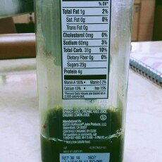 Photo of Bolthouse Farms 1915 Apple Romaine Cucumber Spinach Kale Lemon Organic uploaded by Sierra B.