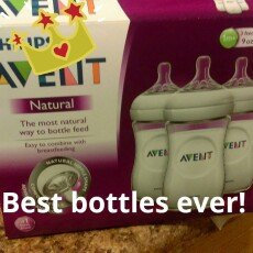 Avent Natural 9oz Bottles (PP) 3 ea uploaded by janet g.
