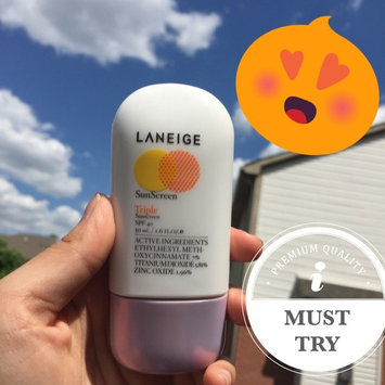 Photo of Laneige Triple Sunscreen SPF 40 - 50 ml uploaded by Escential +.
