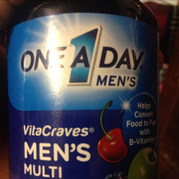 One A Day VitaCraves Men's Multivitamin Gummies, Fruit, 70 ea uploaded by Kristie T.