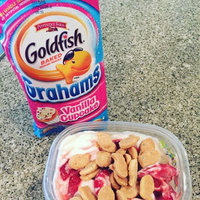 Pepperidge Farm Goldfish Grahams Vanilla Cupcake Graham Snacks uploaded by Taylor B.