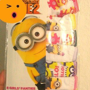 Photo of Despicable Me Minions Girls Underwear, 7+1 Bonus Pack uploaded by ismaray g.
