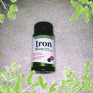 Photo of Nature's Bounty Iron uploaded by Destiny D.