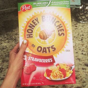 Photo of Post Foods, LLC HNY BNCH OAT STRWBRY 16.5OZ uploaded by Tessa T.