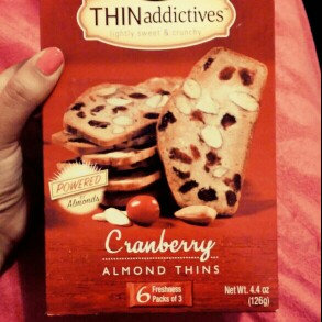 Photo of Nonni's Foods Nonni's THINaddictives Cranberry Almond Thins 4.44 oz uploaded by Alejandra M.