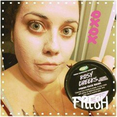 Photo of LUSH Rosy Cheeks Face Mask uploaded by Jami N.