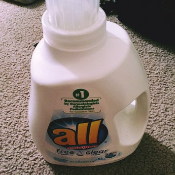 Photo of all free clear Laundry Detergent uploaded by Sabrina F.