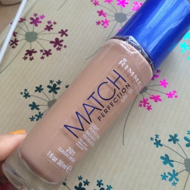 Rimmel London Match Perfection Foundation  uploaded by Jigna B.