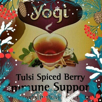 Photo of Yogi Tulsi Spiced Berry Immune Support Tea, 16 Ct uploaded by Noelia M.