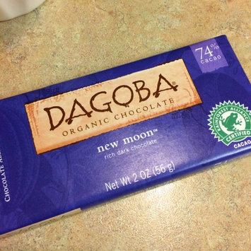 Dagoba New Moon Organic Rich Dark Chocolate uploaded by Jenna W.