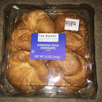 The Bakery at Walmart The Bakery European Style Croissants, 6 count, 12 oz uploaded by Maria Q.