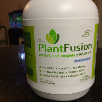Photo of PlantFusion Cookies n Creme 2 lb from NutraFusion uploaded by Judy S.