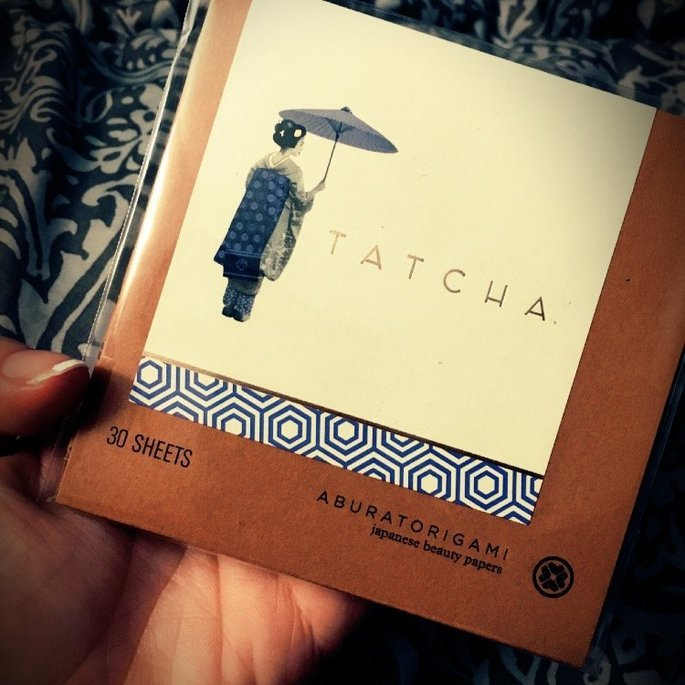 Tatcha Aburatorigami Japanese Beauty Papers Duo uploaded by Kirsten D.