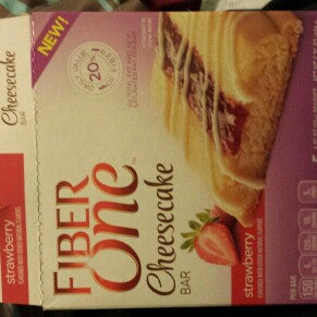 Photo of Fiber One Strawberry Cheesecake Bar uploaded by Karla H.