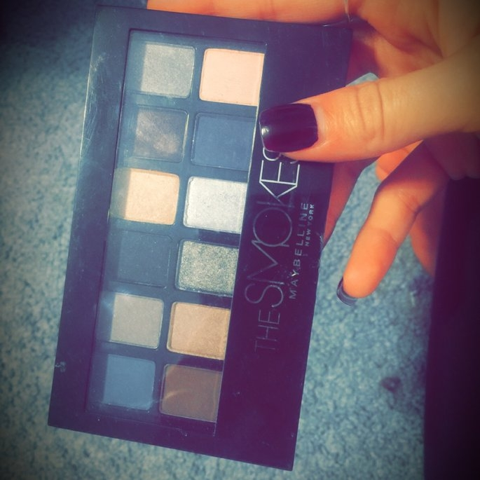 Maybelline New York The Smokes Eye Shadow Palette uploaded by Alexis Marie M.