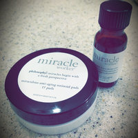 philosophy the miracle worker miraculous anti-aging retinoid pads and solution uploaded by Amanda M.