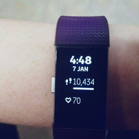 Fitbit Charge 2 - Plum, Small by Fitbit uploaded by Trina B.