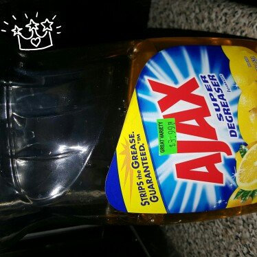 Ajax Super Degreaser Lemon Dish Liquid