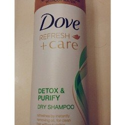 Dove Detox & Purify Dry Shampoo uploaded by Lupe A.