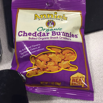 Annie's Homegrown® Organic Cheddar Bunnies® Baked Snack Crackers uploaded by Melanie A.