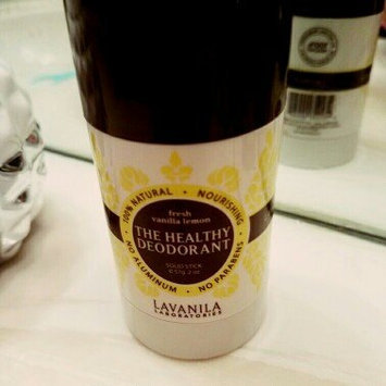 Photo of LAVANILA The Healthy Deodorant Fresh Vanilla Lemon 2 oz uploaded by Awilda F.