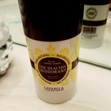 LAVANILA The Healthy Deodorant Fresh Vanilla Lemon 2 oz uploaded by Awilda F.