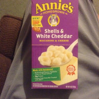 Annie's®  Homegrown Shells & White Cheddar Macaroni & Cheese uploaded by James B.