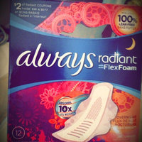 Always Radiant Infinity Pads with Flexi-Wings uploaded by Nic L.