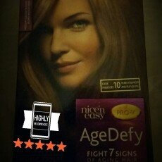 Photo of Clairol Age Defy Expert Collection - Medium Golden Blonde - (8G) uploaded by Marilou A.