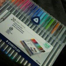 Photo of Staedtler Triplus Fineliner Pens, Assorted, Set of 20 uploaded by Brook M.
