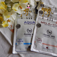 Freeset Donkey Milk Skin Gel Mask Pack Aqua uploaded by Laura S.