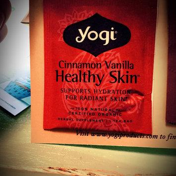 Yogi Tea Cinnamon Vanilla Healthy Skin uploaded by Ashley B.