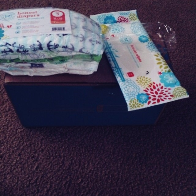 The Honest Company Honest Diapers Value Pack, Anchors / Stripes & Skulls - Size 5 (50 uploaded by Jessica S.