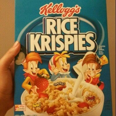 Kellogg's Rice Krispies Cereal uploaded by lupe b.
