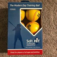 Soft HIT Seamed Foam Practice Softballs - Yellow (6 Pack) uploaded by Skyler M.