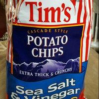 Tim's Extra Thick & Crunchy Sea Salt & Vinegar Cascade Style Potato Chips, 16 oz uploaded by Elena G.