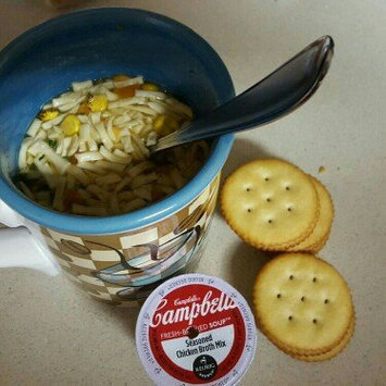 Photo of Campbell's® Fresh-Brewed Soup Homestyle Chicken Broth & Noodle Soup Mix Coffee Podss uploaded by Machelle H.