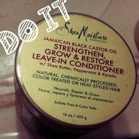 SheaMoisture Strengthen, Grow & Restore Treatment Masque, Jamaican Black Castor Oil, 12 oz uploaded by Na'ilah S.