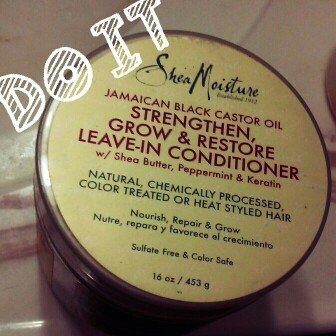 SheaMoisture Jamaican Black Castor Oil Strengthen, Grow & Restore Treatment Masque w/ Shea Butter, Peppermint & Keratin uploaded by Na'ilah S.
