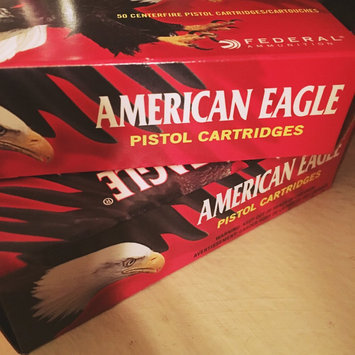 Photo of Federal American Eagle Handgun Ammo, 9mm Luger, 115 Gr, FMJ uploaded by Crystal Q.