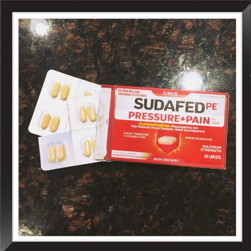 Sudafed PE Caplets Pressure + Pain for Adults Caplets uploaded by Natalie L.