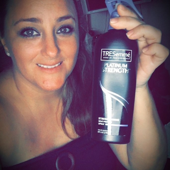 TRESemmé Platinum Strength Strengthening Heat Protect Spray uploaded by Natasha N.